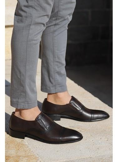 Ayakland P545 %100 Deri Klasik Erkek Ayakkabı Kahve